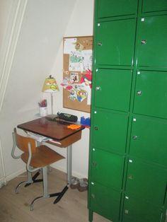 Jongenskamer groene locker kidsroom More