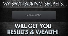 His Sponsoring skills generate for him multiple 5 figure months in Residual Income. Want to learn his best-kept sponsoring secrets that can make YOU a fortune?  Get it here!
