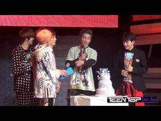 TEEN TOP On Air 리키의 19번째 생일파티  TEEN TOP Official Fan Cafe  |   http://cafe.daum.net/TEENTOP