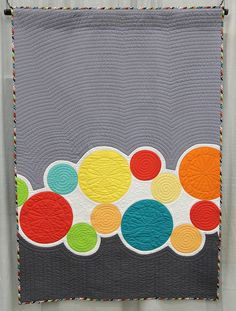 Quilt Con, Title: Squiders and Winks  Made by Janet McWorkman