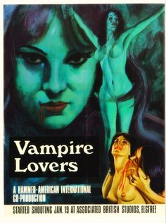 Your Daily Vampire Bite — hammerfilmsfemmefatales:   Promo advert for the...