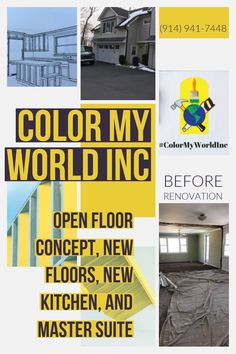 Color My World Inc  📍 445 North State Road  Briarcliff Manor, New York 10510 📱(914) 941-7448 💻www.colormyworldinc.com . #ColorMyWorldInc #dreamhome  #Renovations #Roofing #NewYork #NewJersey #Connecticut #WestchesterNy #WestchesterCounty #HudsonValley #OpenFloorConcept #HomeRenovation #GeneralContractor #Licensed #NewFloors #Insured #CustomWoodwork