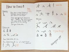 Karin's Yoganotes: Getting fluent in yoga sketching and planning classes visually — Eva-Lotta Lamm Yoga Stick Figures, Look At The Book, Learn To Sketch, Yoga Lessons, Yoga Teacher Training Course, How To Grow Taller, Yoga Sequences, How To Introduce Yourself, Stress