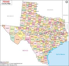 Texas Counties Map With Cities Over In Population Google - Texas county map