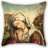 Uloveme 16 X 16 Inches / 40 By 40 Cm Oil Painting Colijn De Coter - The Mourning Mary Magdalene Cushion Cases ,two Sides Ornament And Gift To Indoor,play Room,her,bedding,office,dance Room $7.78 The pillow cushion cover design is oil painting Colijn de Coter - The Mourning Mary Magdalene, and size is 16 x 16 inches / 40 by 40 cm. If you do not leave, I will not give up Sunshine in the house Bright and happy covers in very good quality. No insert, only throw plillow covers. 2 sides…