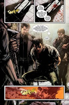 Splinter Cell Echoes Graphic Novel - Page 1