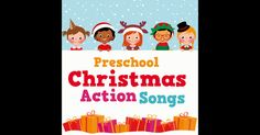 Preschool Christmas Action Songs: Shake Them Santa Bones, Christmas Freeze Dance, Winter Hokey Pokey Christmas Songs For Kids, Christmas Concert, Preschool Christmas, Christmas Themes, Christmas Crafts, Music For Kids, Kids Songs, Shake, Freeze Dance
