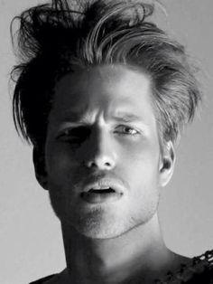 Men's Blonde Hair.