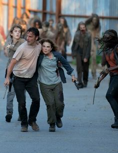 The Walking Dead Season 6 Episode 8 'Start to Finish' Rick and Deanna