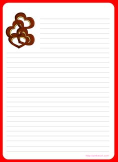 Free printable thank you writing paper - ausruckbares Briefpapier ...