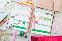 Here are TWO ways to use ONE set of washi tape in your planner layouts. One is in my Erin Condren LifePlanner and one in my Happy planner. These are easy decoration ideas that are also super affordable and fun! Passion Planner, Happy Planner, Washi Tape Planner, Academic Planner, Best Planners, Planner Layout, Planner Supplies, Planner Decorating, Erin Condren Life Planner