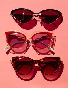 ce187f9831 MEOW MIX  From top  Kate Young for Tura Retro Cat-Eye Shape Sunglasses