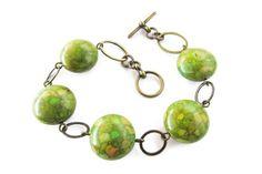 Wooden Earrings, Boho Earrings, Bohemian Style Jewelry, Laser Cut Jewelry, Green Gemstones, Modern Boho, Stone Bracelet, Turquoise Stone, Gifts For Her