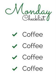 Here's some Monday morning coffee humor! #CoffeeHumor
