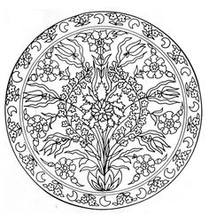 To print this free coloring page «coloring-mandala-flowers-3», click on the printer icon at the right
