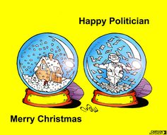 Merry Christmas and Happy Politician