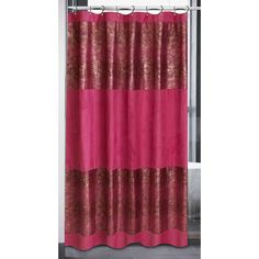 Faux Suede Cobra Animal Shower Curtain