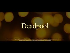 This Trailer Proves That Deadpool Is The Perfect Valentine's Day Movie. Please tell me he will randomly say changas and he has two voices in his head omg best thing ever