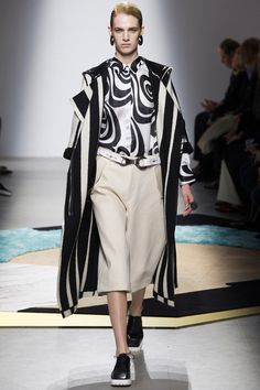 Acne Studios | Fall 2014 Ready-to-Wear Collection | Style.com // this would be for a guy at the club -- older man, I think