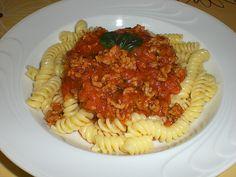 Leckere Tomaten - Hackfleischsauce mit Karotten