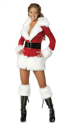 cheap Santa Costumes,Santa Costumes for women,Women White Fur Long Sleeves Santa Costume Female Santa Costume,Women White Fur Long Sleeves Santa Costume Female Santa Costume for sale Christmas Dance Costumes, Costumes Sexy Halloween, Santa Costumes, Holiday Costumes, Cosplay Costumes, Sexy Christmas Outfit, Christmas Lingerie, Christmas Dresses, Kids Fashion