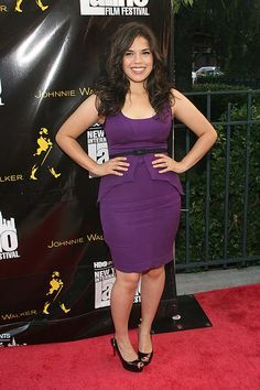 America Ferrera-cute with curves 30 Outfits, Summer Outfits, Sheath Dress, Peplum Dress, Healthy Body Images, What's Your Style, Petite Fashion, Beautiful People, Beautiful Women