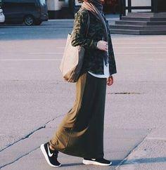 I need to start saving up for more long skirts and dresses #hijab