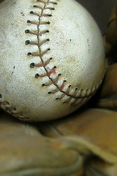 Softball is my game.
