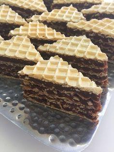 keks i sitni kolaci – Page 4 – Minas Bakery Chocolate Wafer Cookies, Chocolate Wafers, Homemade Chocolate, Chocolate Desserts, Polish Desserts, Polish Recipes, Cookie Recipes, Dessert Recipes, Eggless Desserts