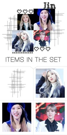 """Updated Profiles: Jin"" by gic-official ❤ liked on Polyvore featuring art and GICJin"