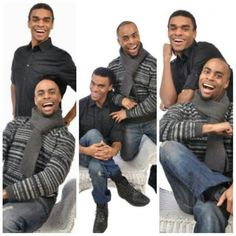 """I love my cousins but I need them to get those smiles together... LOLOL Looking like the spoof version of """"Step Brothers"""""""