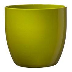 Basel - Πράσινο λεμόνι Ceramic Flower Pots, Basel, Lime, Clay, Ceramics, Canning, Mugs, Current Events, Tableware