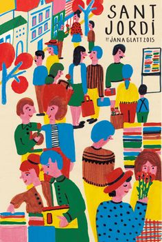 Jana Glatt #poster #illustration #design