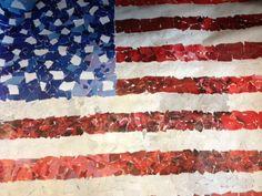 OCS High School Art: Art 2: Torn Paper Project