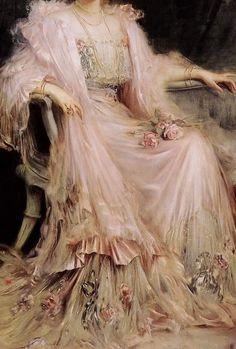 Caspar Ritter (1861-1923) - Crown Princess Cecilie of Prussia, 1908