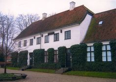 Karen Blixen's (Isak Dinesen) home in Denmark.
