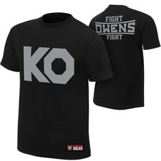 Wear your favorite WWE Superstar! Buy exclusive Kevin Owens apparel at the official WWE Shop online. The Official WWE Shop Wwe T Shirts, Cool T Shirts, Dean Ambrose, Seth Rollins, Kevin Owens, Types Of Sleeves, Kos, New Outfits, Mens Tops