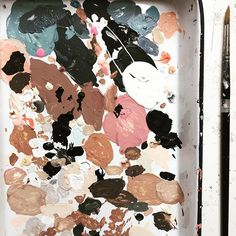 Is your palette a reflection of your inner state?  #mess