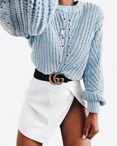 Stylish And Casual Mini Skirt Sweater Outfits Ideas 09 Plaid Fashion, Tomboy Fashion, Skirt Fashion, Fashion Outfits, Cool Outfits, Casual Outfits, Skirt Outfits, Preppy Style, My Style