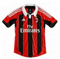 Nuevas camisetas de futbol 2014 2015 2016: Camisetas del Serie A para la temporada 2012 2013 :Camiseta MILAN adidas 2012 2013