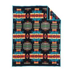 Pendleton Chief Joseph Blanket - Black | ZD411 51105 | £300.00