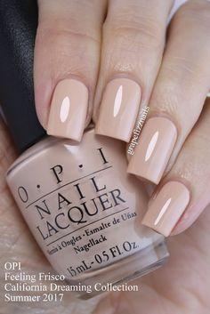 Grape Fizz Nails: New OPI California Dreaming Collection for Summer 2017 Black Acrylic Nails, Nude Nails, Gel Nails, Gorgeous Nails, Pretty Nails, Nail Paint Shades, Opi Nail Colors, Color Nails, Cute Pink Nails