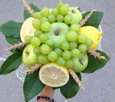 фруктовые букеты своими руками