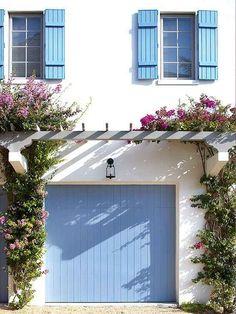 Update your garage door with a fresh coat of paint.