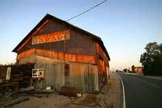 Built in the 1880s in the borax-mining town of Marion, Calif. as a locomotive repair roundhouse, the Daggett Garage building was moved by 20-mule team to the Waterloo Mine south of Calico and finally to Daggett in 1912. The building has been an auto repair shop, a mess hall for U.S. Army troops guarding railroad bridges during World War II and a garage and machine shop until the mid-1980s.