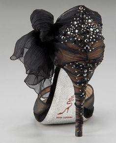 Rene Caovilla Stretch Organza Shoes