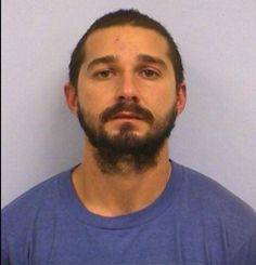 Shia LaBeouf's Mugshot — Shia LaBeouf was arrested for public intoxication in Austin TX.
