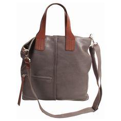 CHRISTOPHER KON   KITT FLAT HAND-HELD handbag - just scored at Marshalls in tobacco, love