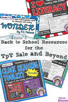 The TpT Sale for Bac