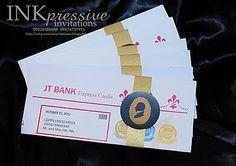Formato de entrega de invitacion de tarjeta de credito